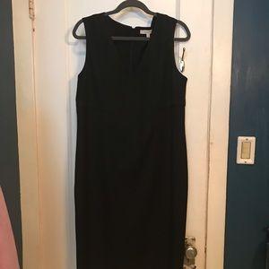 Ellen Tracy black Column dress size 14
